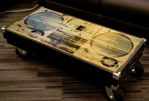 Genial DJ Coffee Table