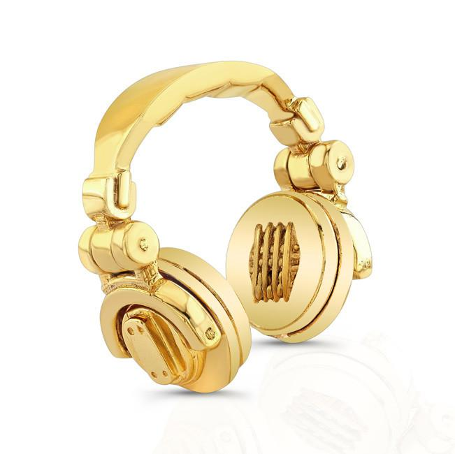 Gold Headphones Fundjstuff Com