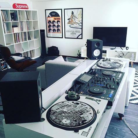 Modern dj room dj setup at - Living room setup ideas for small ...