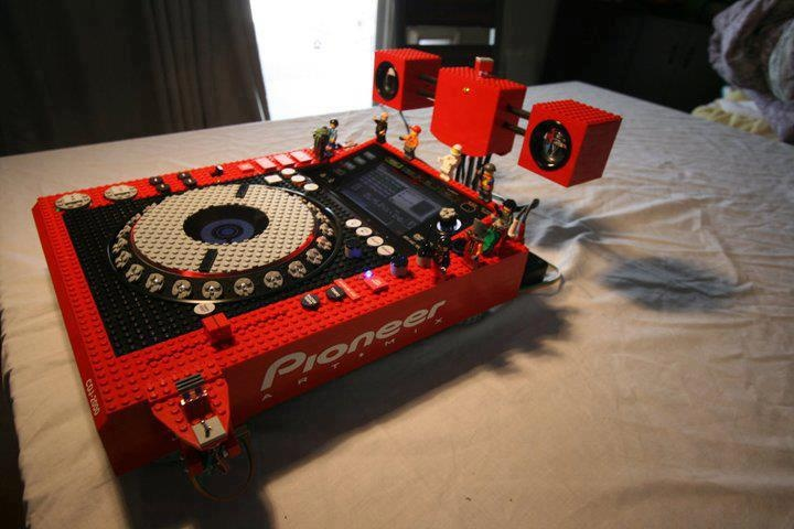 Cool Pioneer Cdj Made Of Lego Fundjstuff Com