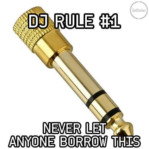 The Number One DJ Rule