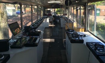 Bus for DJs