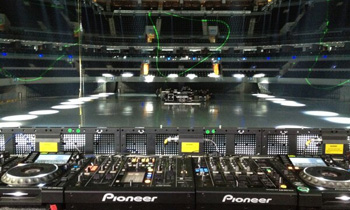 CDJs at EDM Event