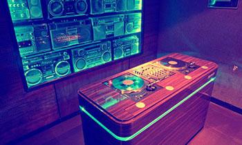 Cool DJ Booth