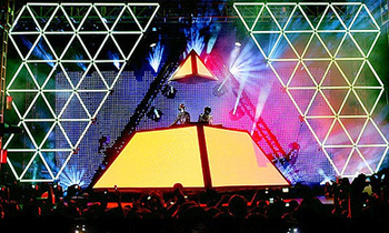 Daft Punk Pyramid Booth