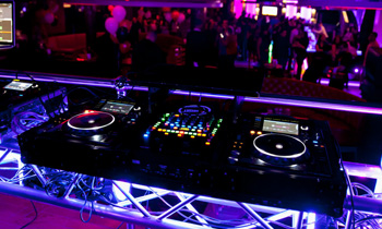 DJ Booth at a Club