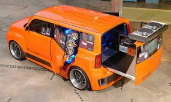 Pimped Out DJ Ride