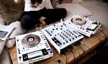 Pioneer CDJ All White Theme