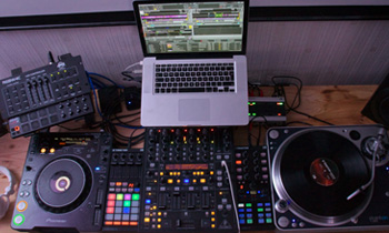 Setup Top View