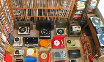Turntables and Vinyls Collection
