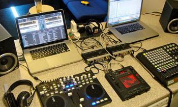 Two Mac Laptop Setup
