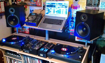 Typical Bedroom DJ Setup