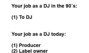 DJs: 90s vs Today