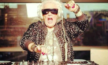 Grandma is a DJ