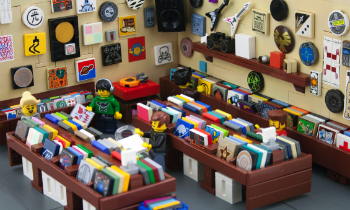 Lego DJ Record Store