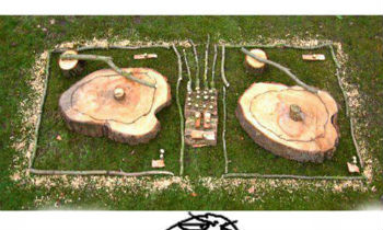 Tree Branch DJ Setup