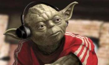 Yoda is a DJ