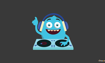 Cute Monster DJ