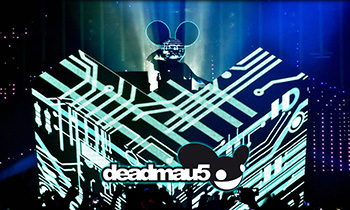 Deadmau5 DJ Booth