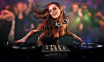 Girly DJ Mixing