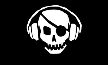 Pirate Skull DJ
