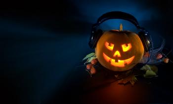 Pumpkin Halloween DJ