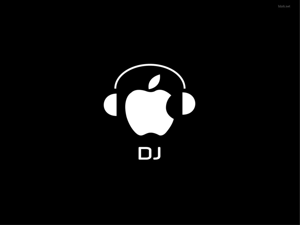 Apple DJ Wallpaper. «