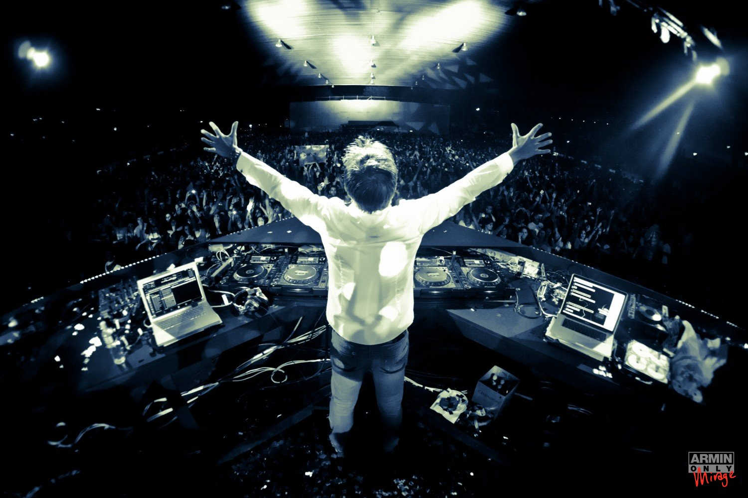 Armin van Buuren Pose Wallpaper