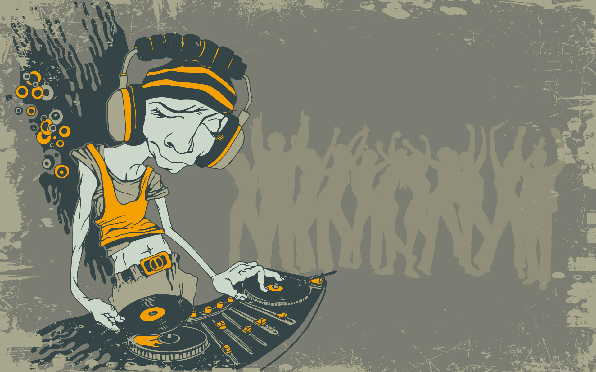 Artwork DJ Wallpaper