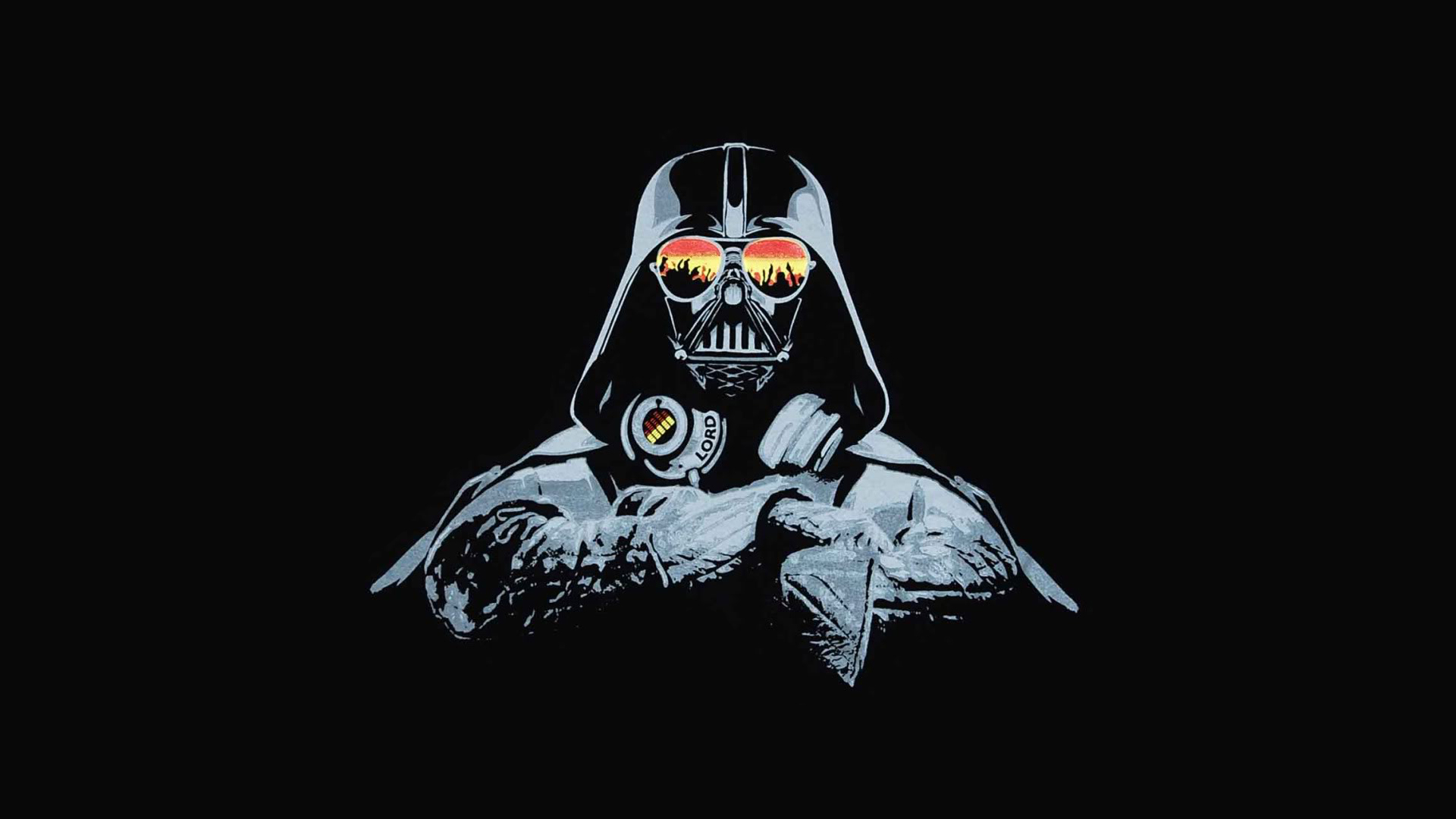 DJ Darth Vader Wallpaper FunDJStuffcom
