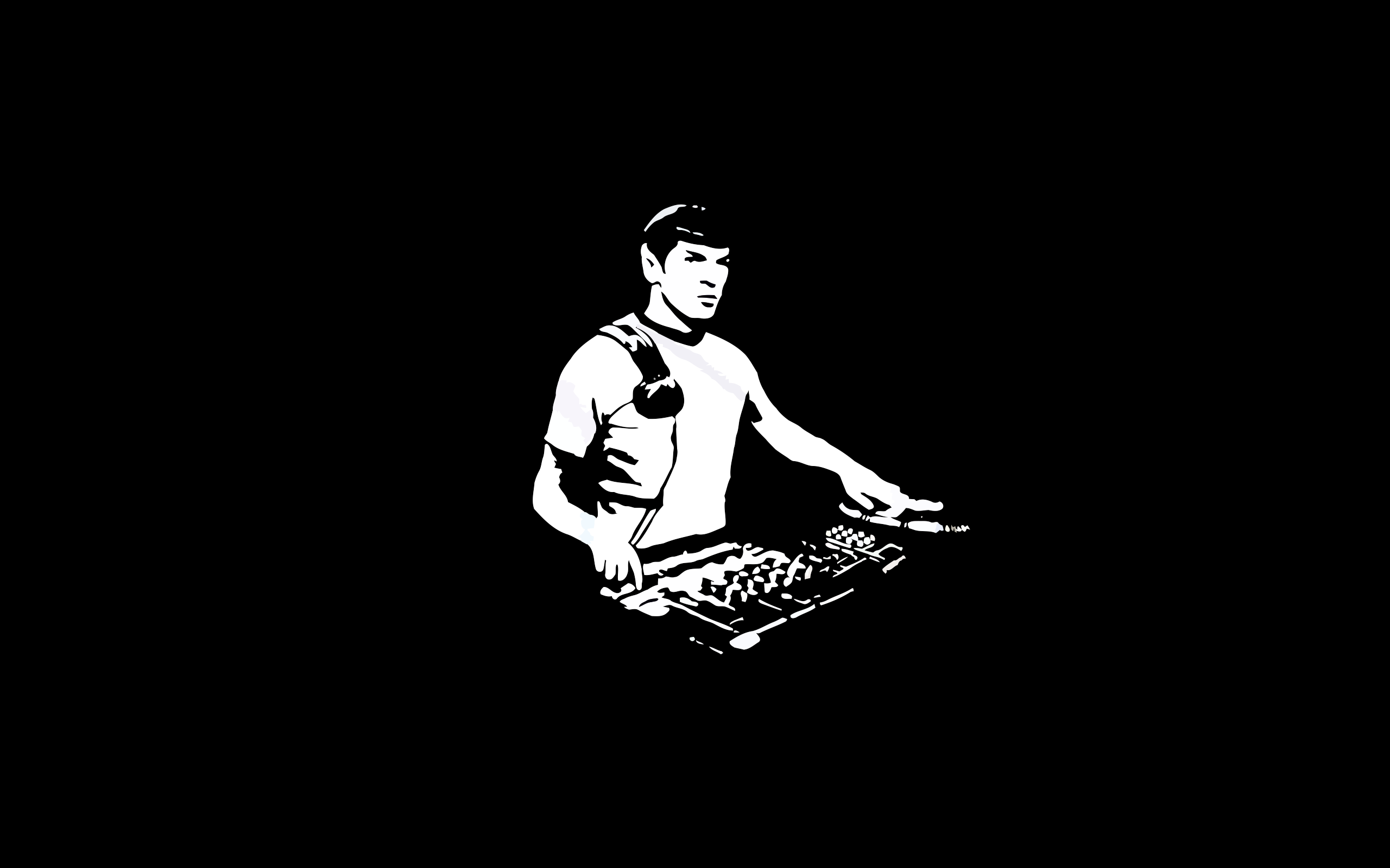 DJ Minimal Wallpaper