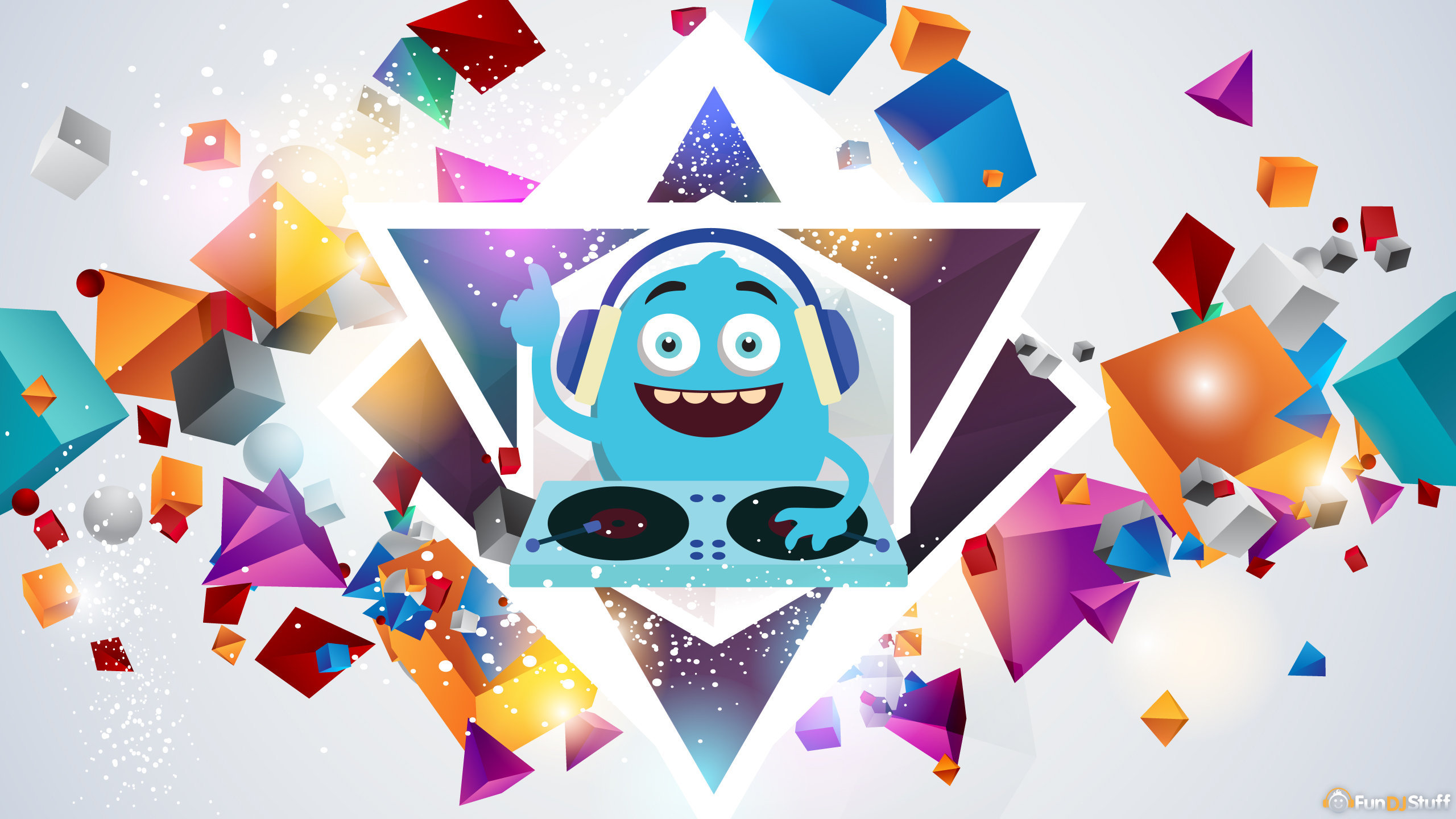 Monster DJ Party Wallpaper