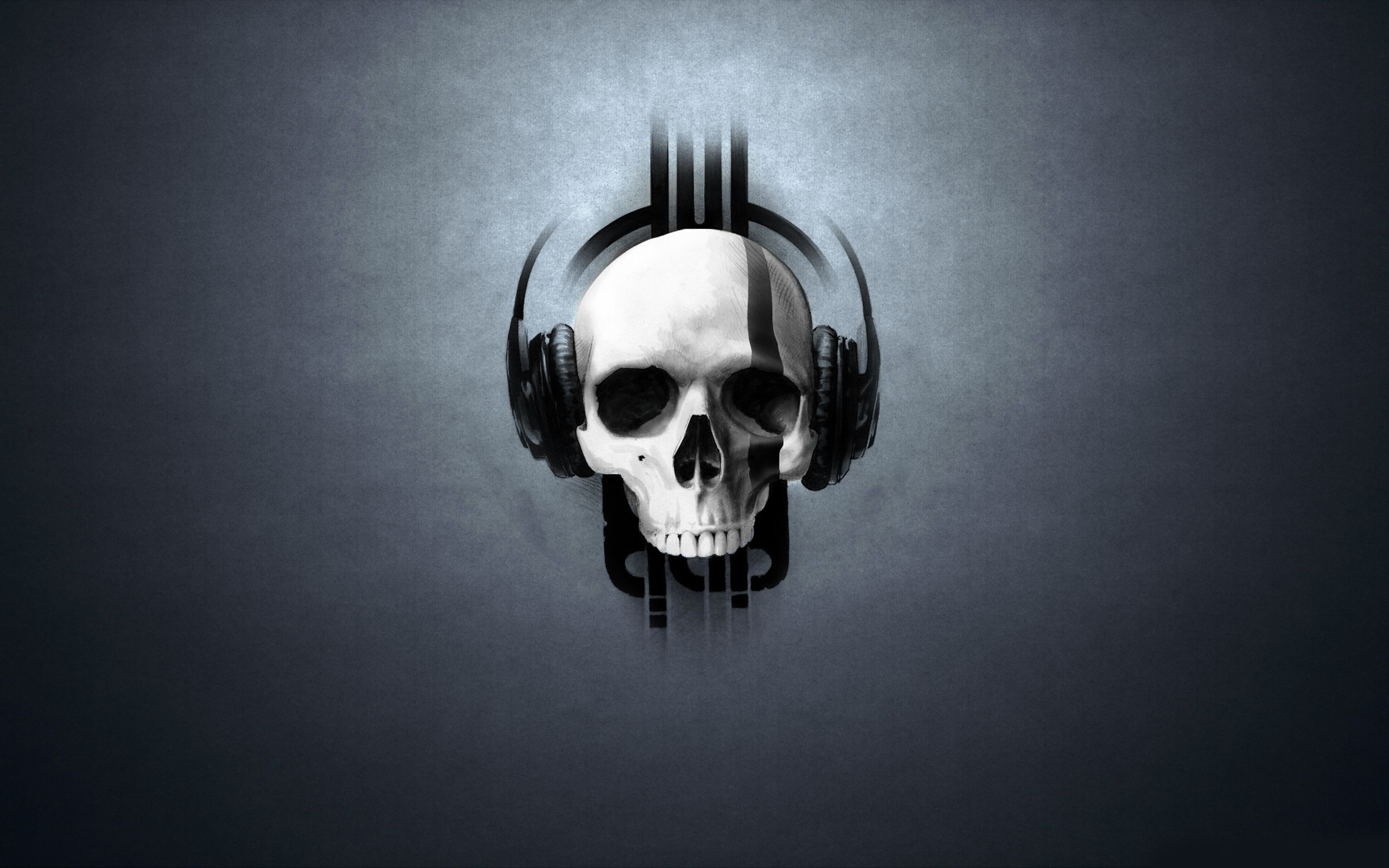 Skull DJ Wallpaper