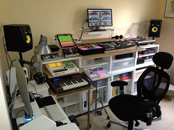 Back To Dj Setup Studio Producer