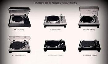 History of Technics Turntables