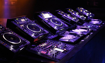 Collection of Turntables and CDJs