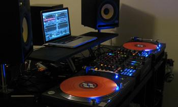 Dark Setup and Orange Vinyl