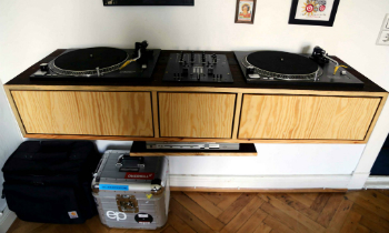 Floating DJ Table