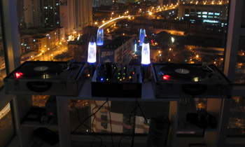 Setup with Amazing City View