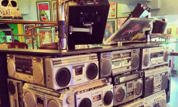 Stereo Stack DJ Booth
