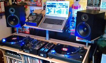 Typical Bedroom DJ Setup