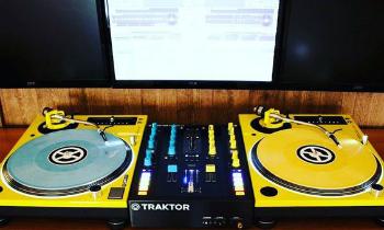 Yellow Turntable