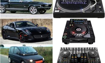 Cars and DJ Equipments Comparison