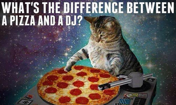 Difference Between Pizza and a DJ