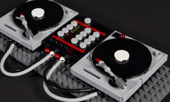 DJ Lego Setup