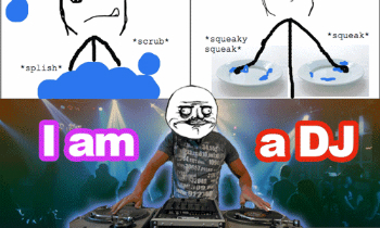 Washing the Dishes DJ