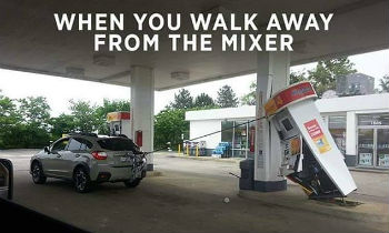 When You Walk Away From The Mixer