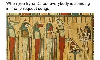 When You're Trying to DJ...