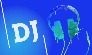 DJ Text and Headphones