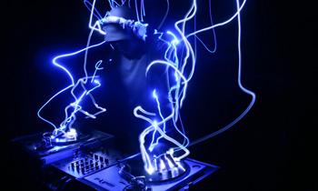 Glowing DJ